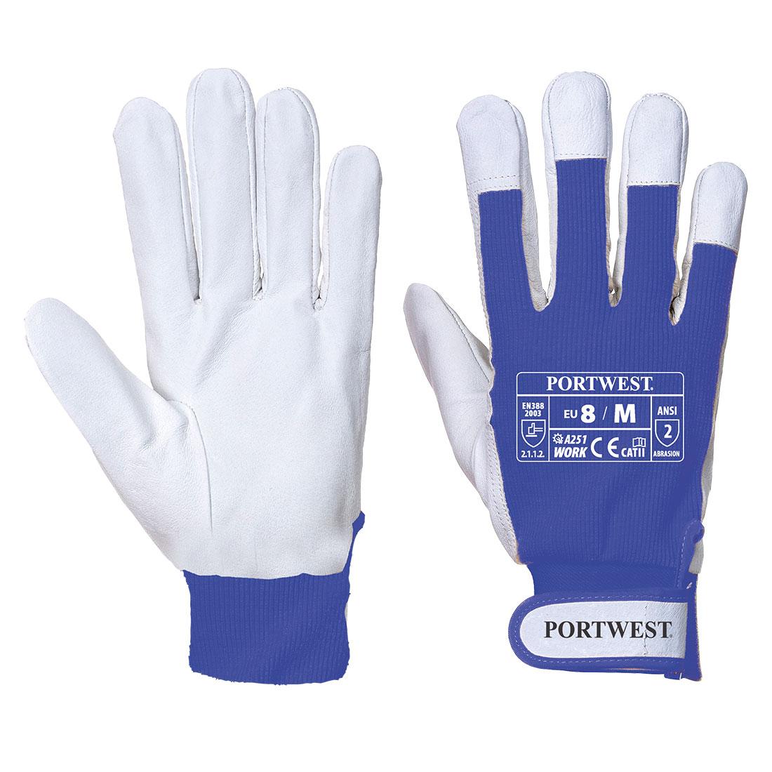 Tergsus Micro Glove, Blue       Size Medium U/Fit