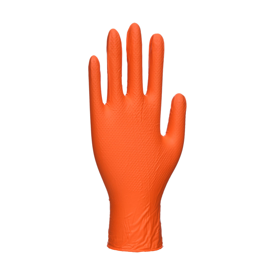 Portwest Orange HD Disposable Gloves Orange XL