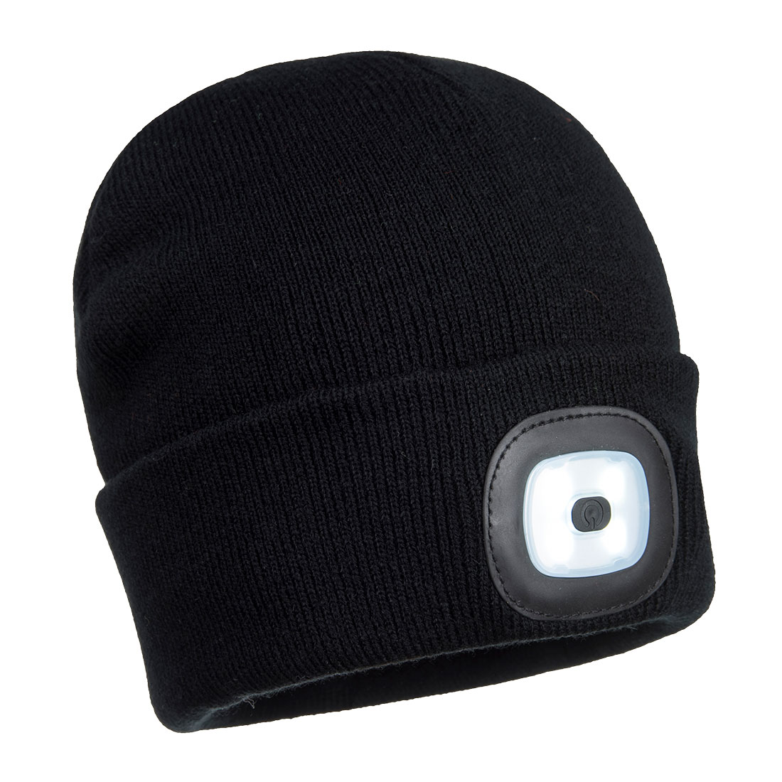 Rechargeable Twin LED Beanie