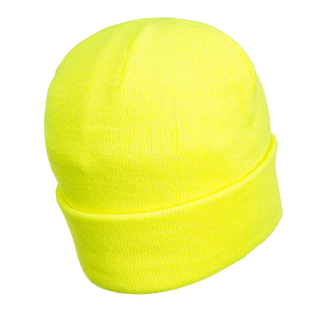 Portwest Beanie LED Head Light Torch Hat USB Rechargable Knitted Unisex BO29