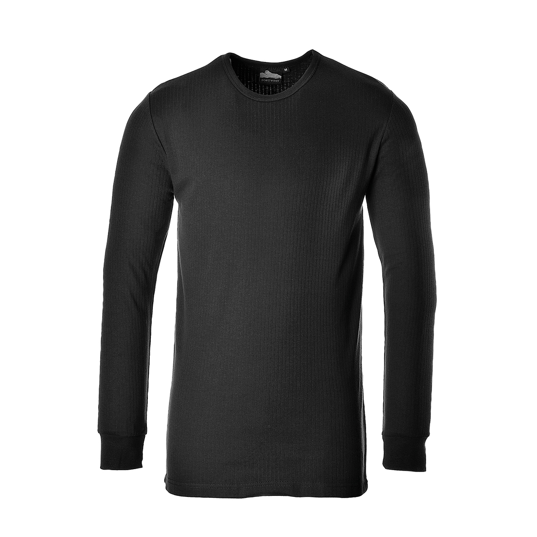 Thermal T-Shirt Long Sleeve Black 3 XL