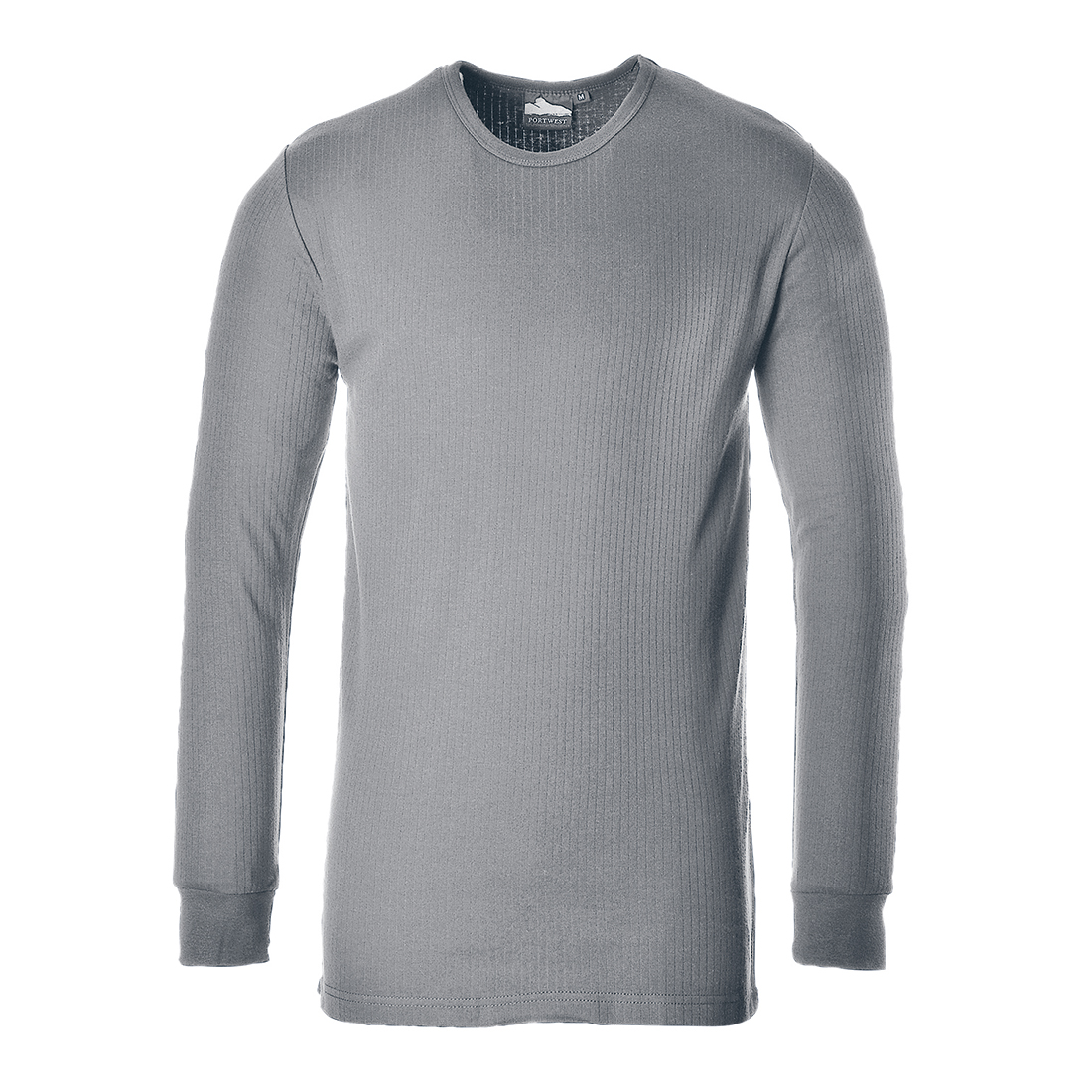 Thermal T-Shirt Long Sleeve Grey Small