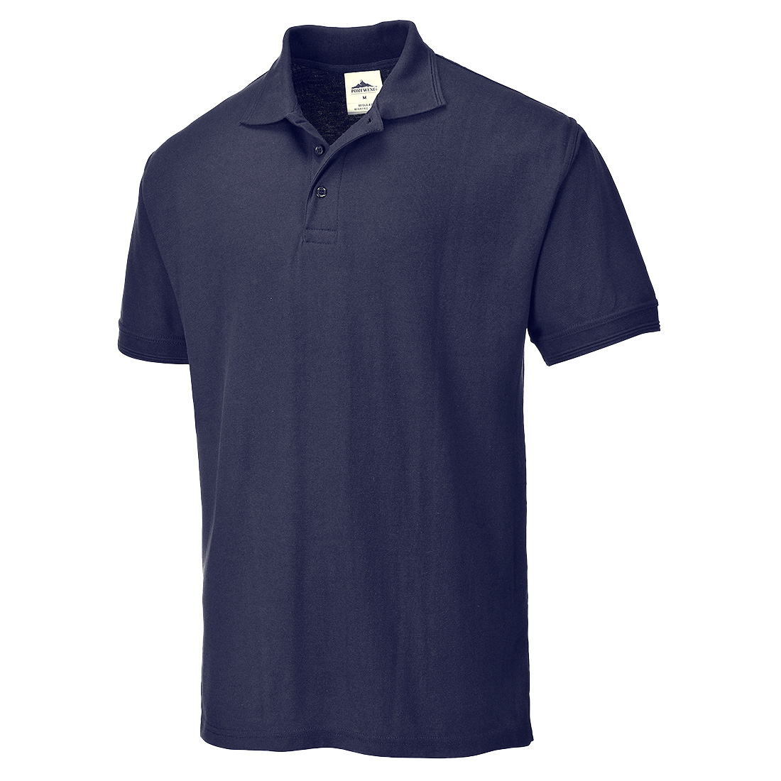 Verona Cotton Polo Navy Medium