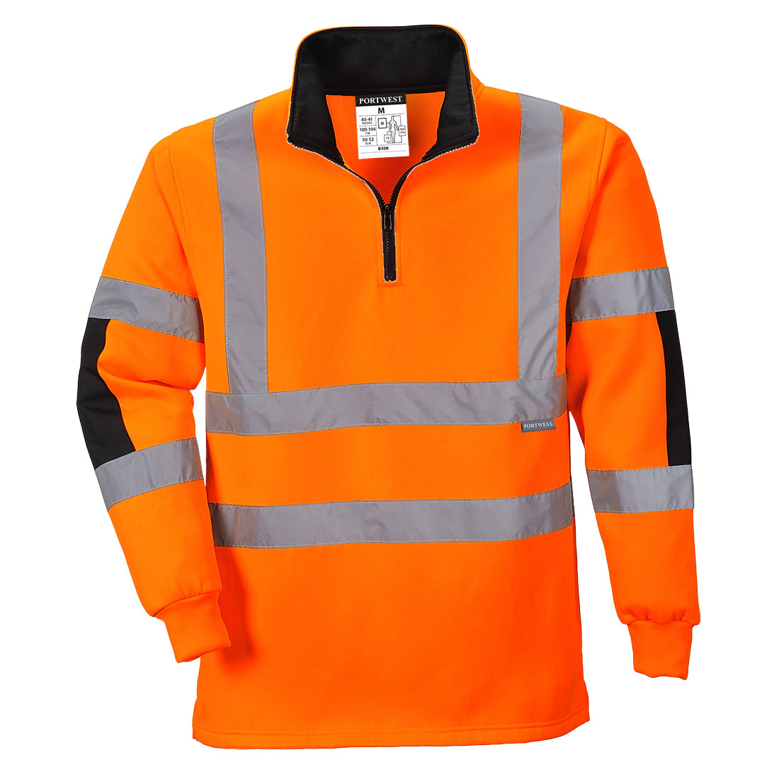 Xenon Rugby Shirt Orange Large