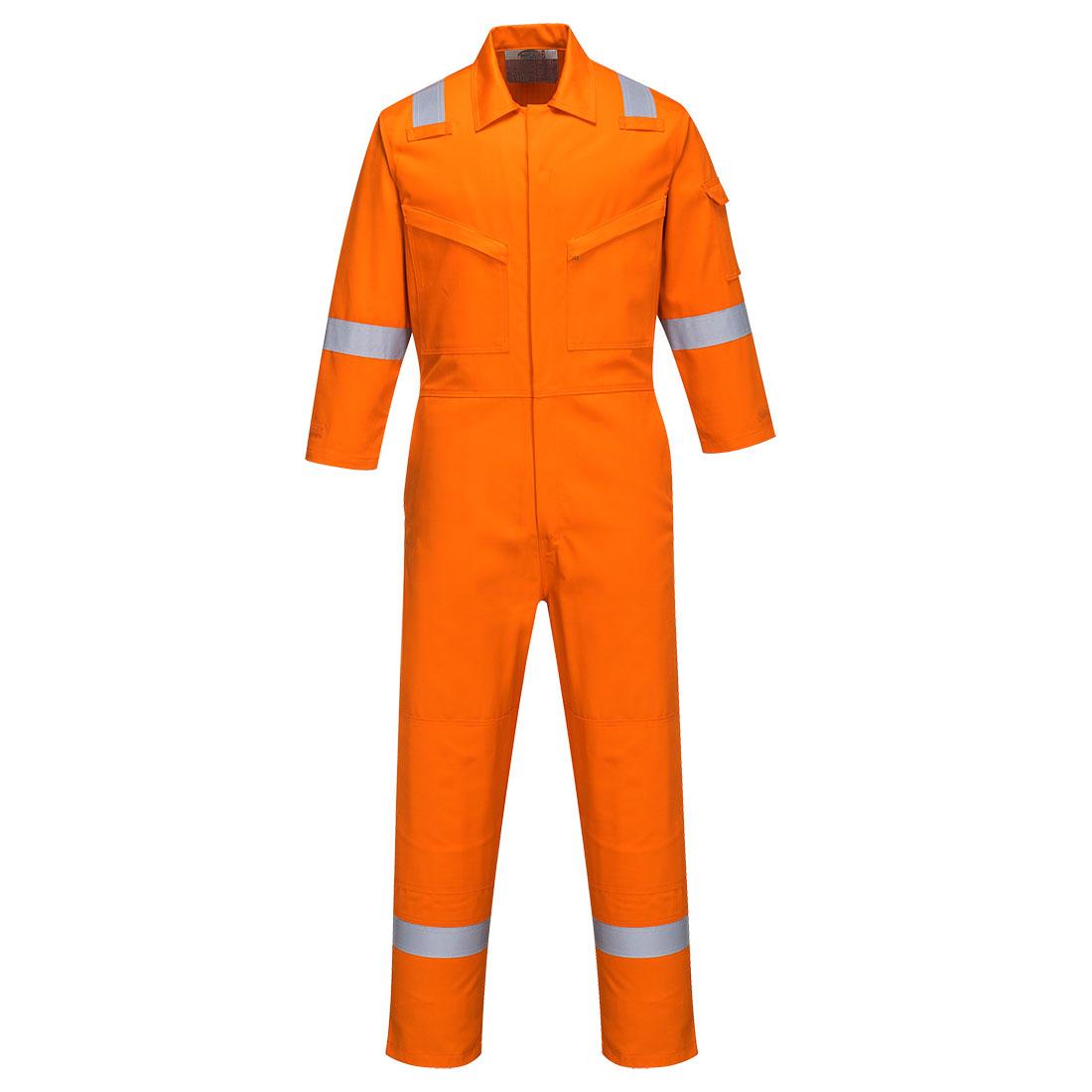 Bizflame Plus Ladies Coverall 350g Orange XXL