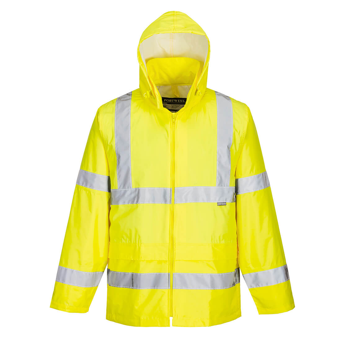 Hi-Vis Rain Jacket Yellow XL