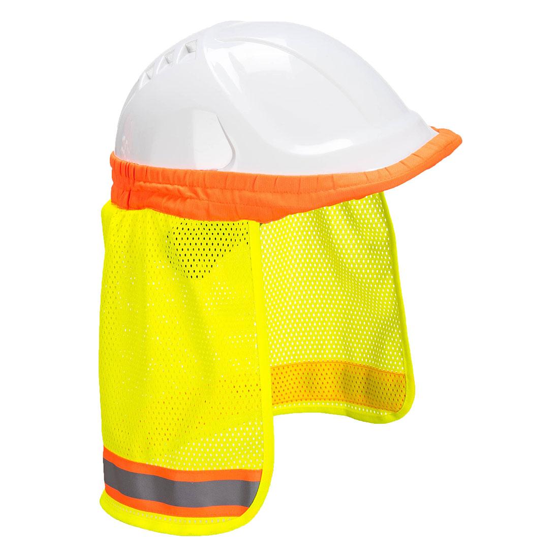Hi-Vis Neck Shade, Yellow  R/Fit