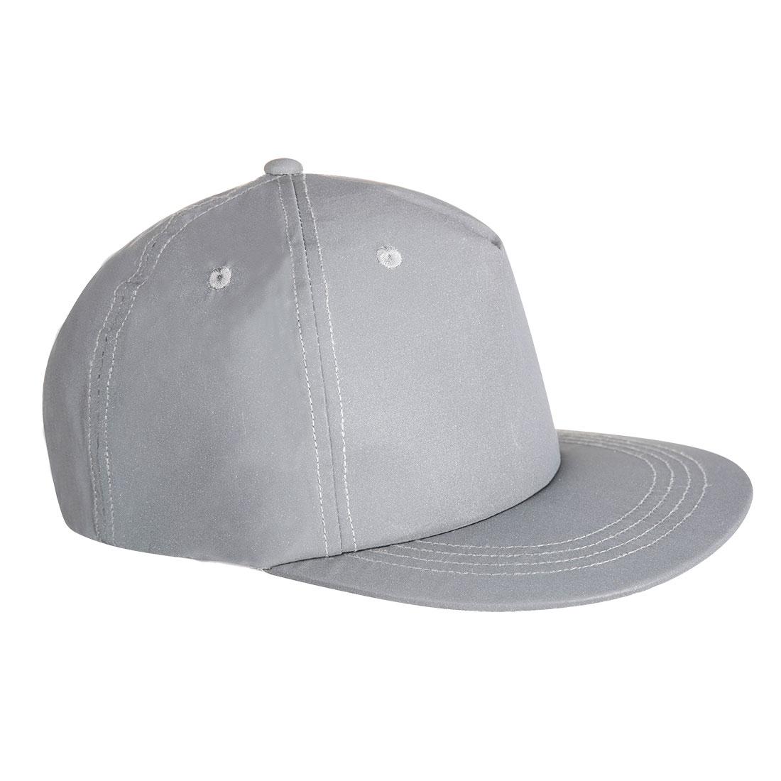 Reflective Baseball Cap Silver  R