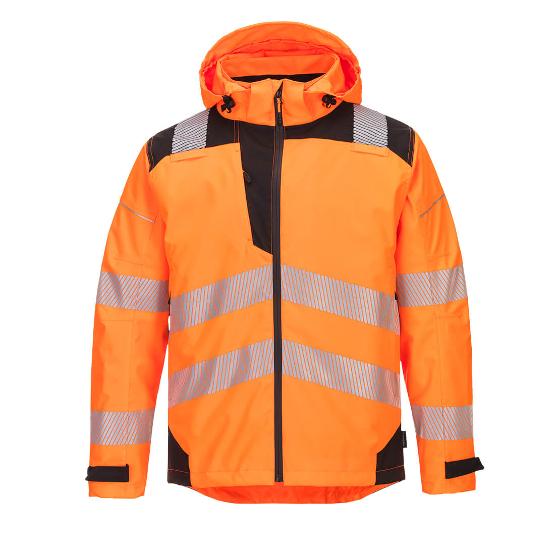 PW3 Extreme Breathable Rain Jacket Orange/Black XXL