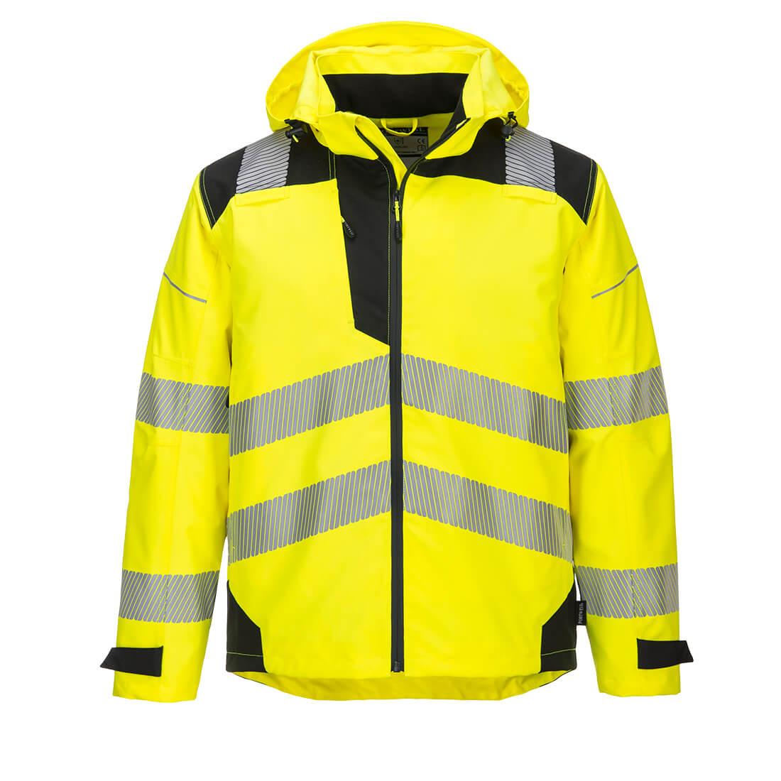 PW3 Extreme Breathable Rain Jacket Yellow/Black Medium