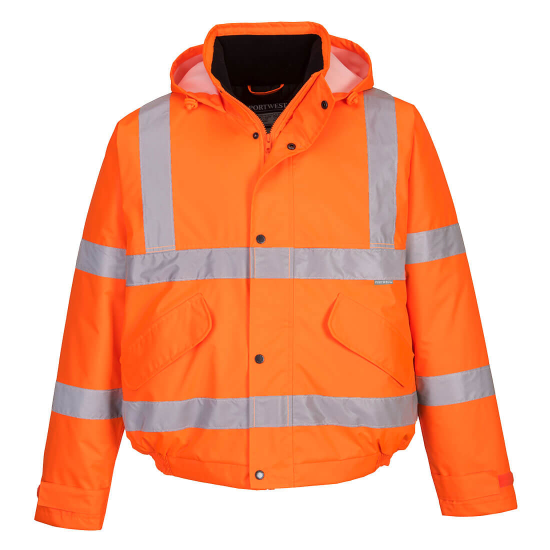 Hi-Vis Bomber Jacket Orange 3 XL