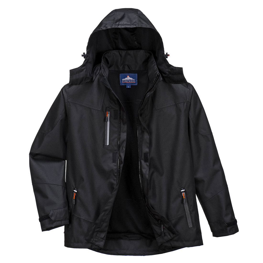 Outcoach Jacket Black 5XL