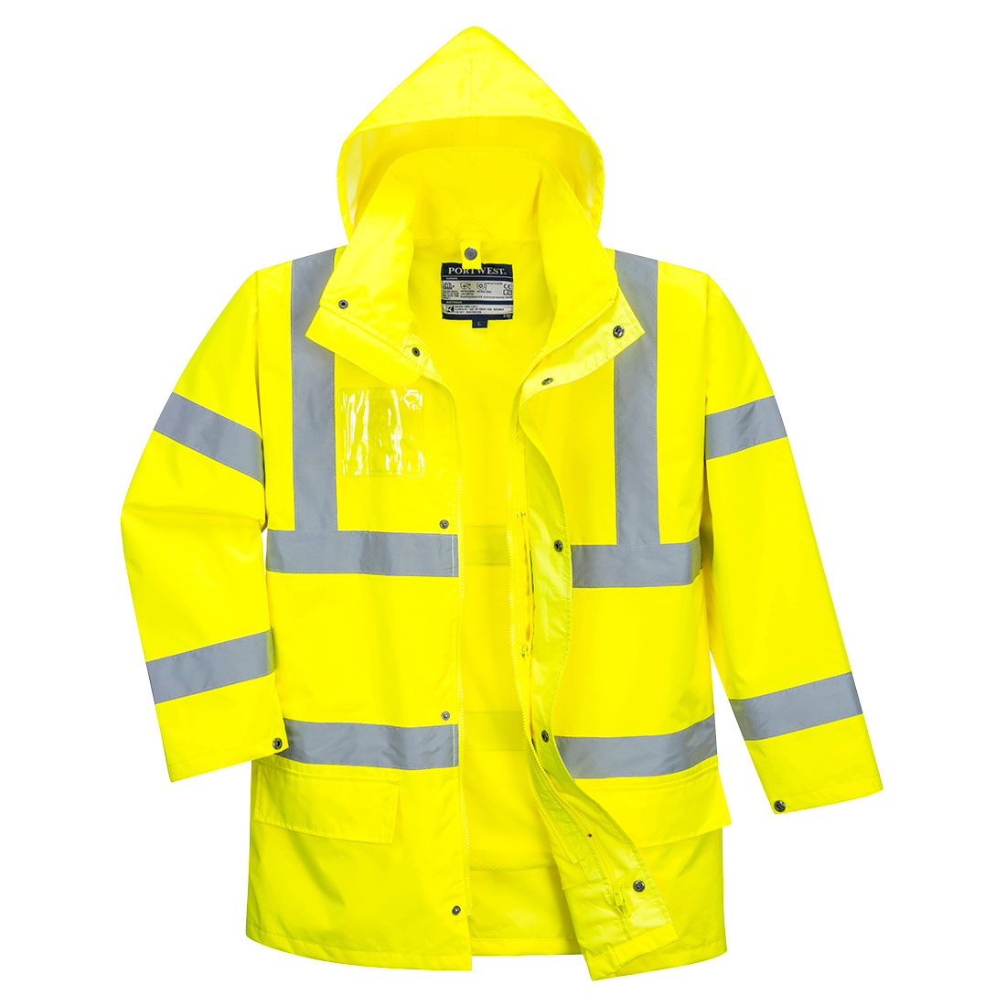 Hi-Vis Essential 5-in-1 Jacket Yellow XL