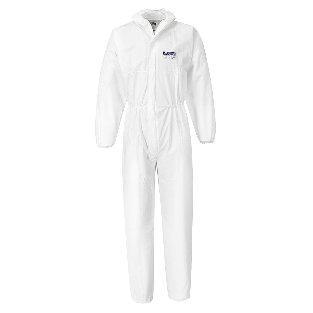 Coverall PP/PE 65g (50pcs), White      Size Large R/Fit