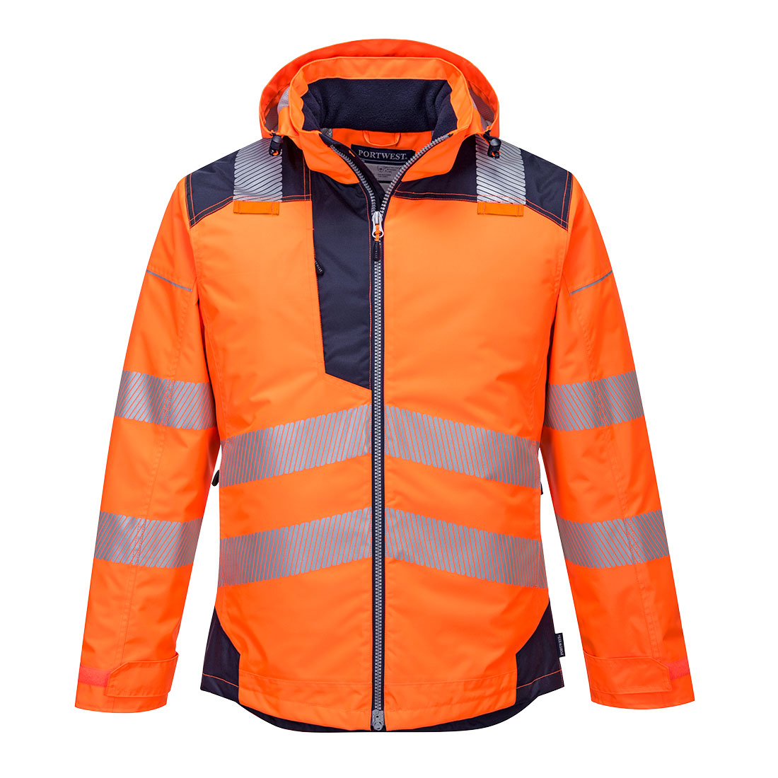 PW3 Hi-Vis Winter Jacket Orange 3 XL