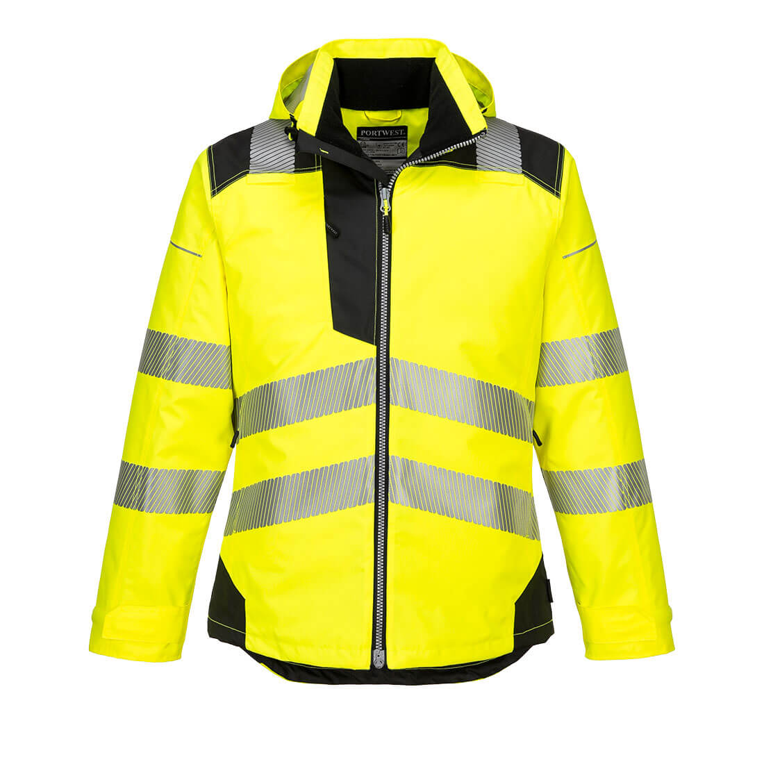 PW3 Hi-Vis Winter Jacket Yellow/Black XXL
